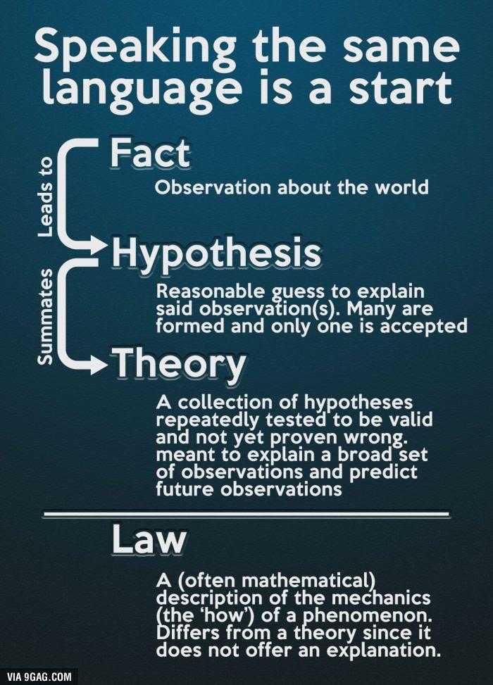 what is true of scientific theories