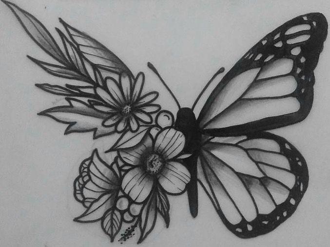 Borboletas Boas Ideias Para Tatuagem Tatuagens Novas E