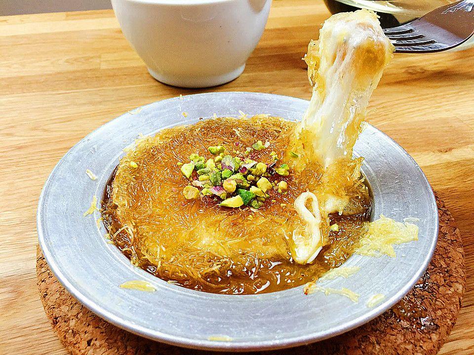 Künefe u2013 Türkische Süßspeise Flan, Essen and Couscous - türkische küche rezepte