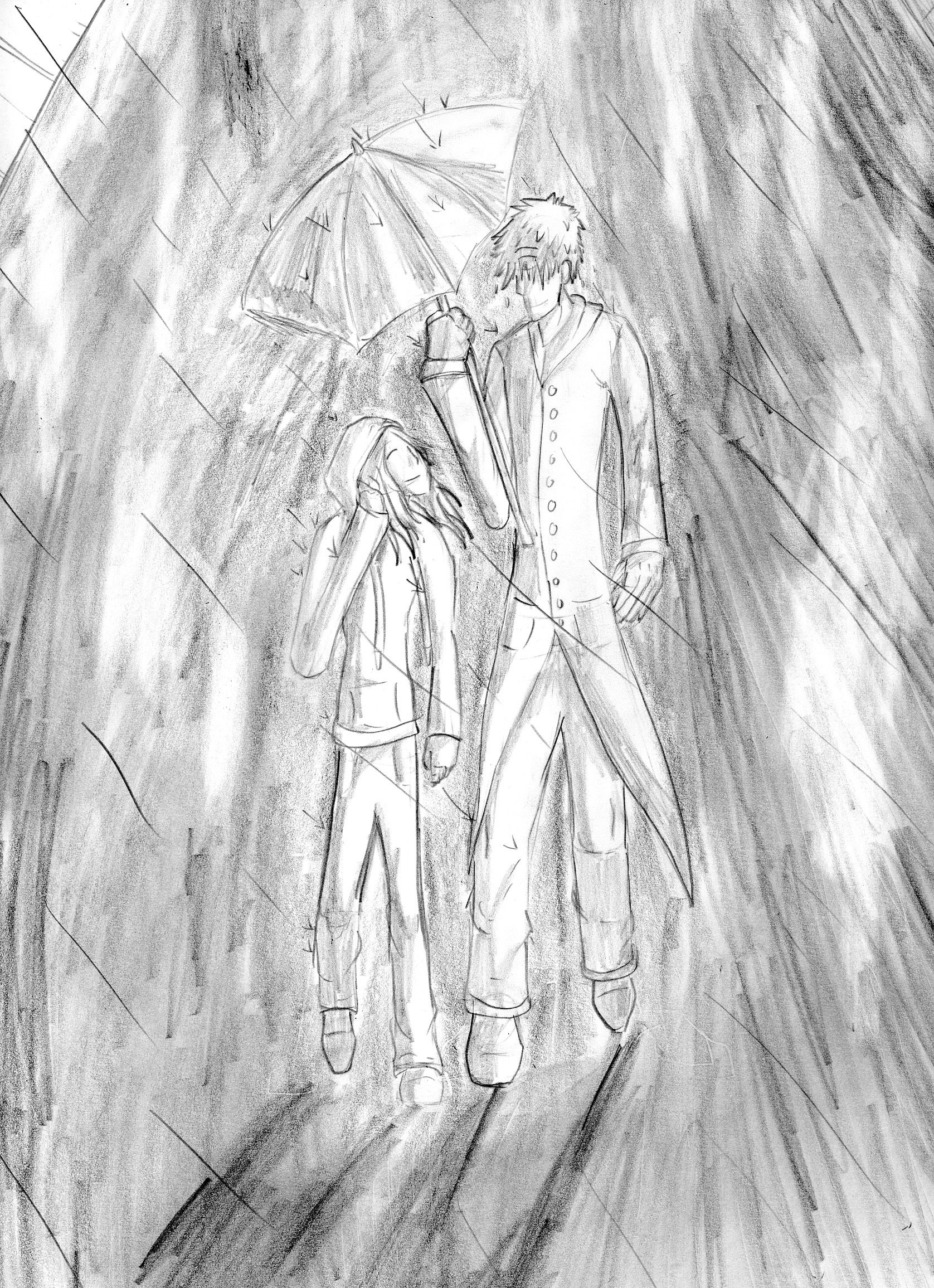 Best Friends This Drawing Portrays Specter And Destinys Older
