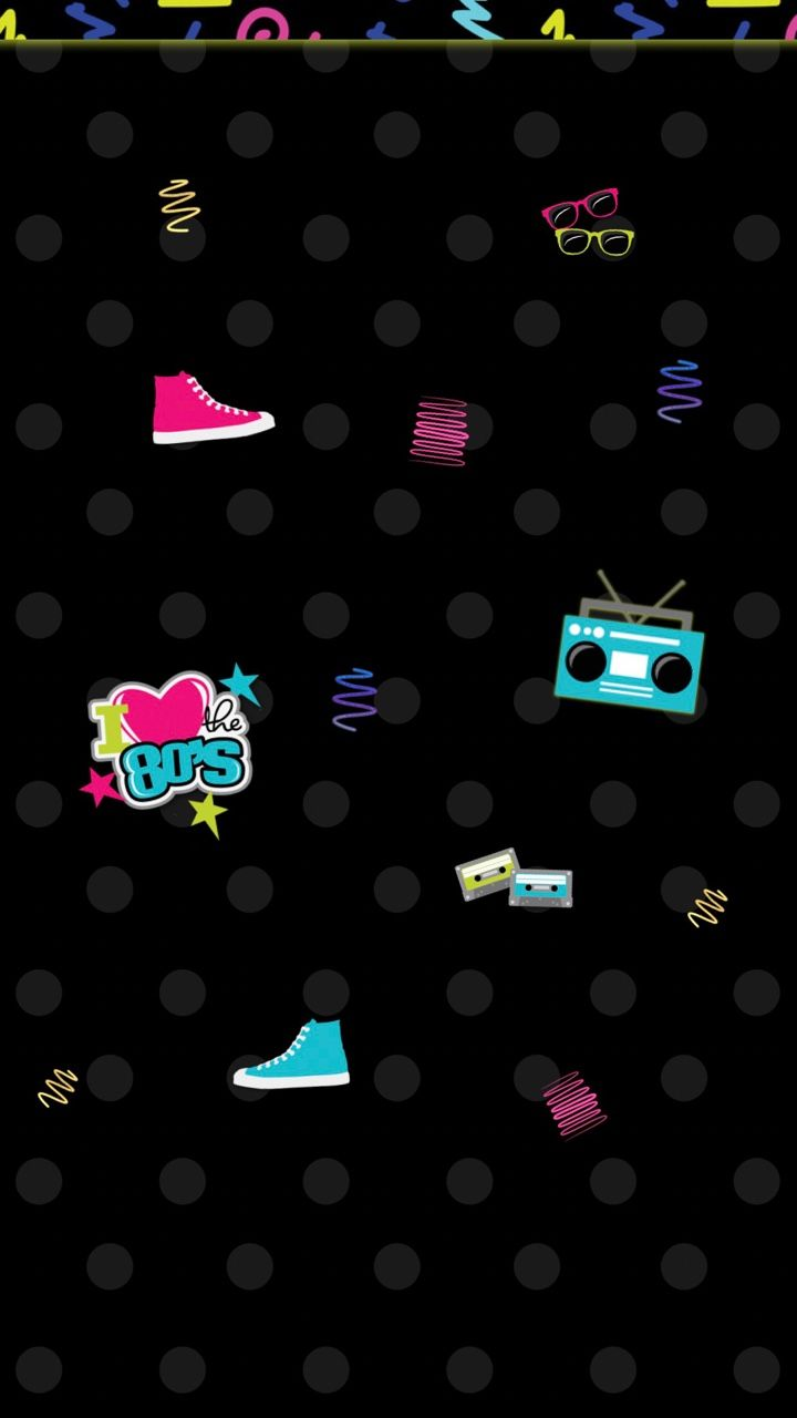 I Love The 80 S Iphone 6 S Plus 7 Plus Home Screens Wallpapers Backgrounds Iphone Wallpaper 80s Screen Wallpaper Iphone Wallpaper Vintage