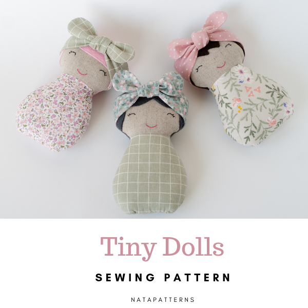 Dolls sewing patterns PDF Soft toys tutorial Sleeping bags for dolls Handmade fabric doll and bedding Travel toys Play set Rag doll for girl #instructionstodollpatterns