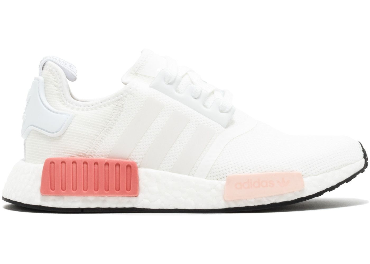 adidas NMD R1 White Rose (W) in 2021 | Adidas shoes women, Adidas ...