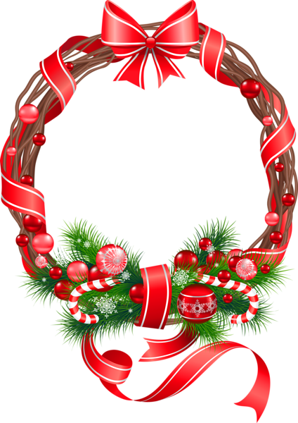 Christmas Png Wreath Ornament Clipart Christmas Wreath Clipart Christmas Photo Frame Christmas Picture Frames