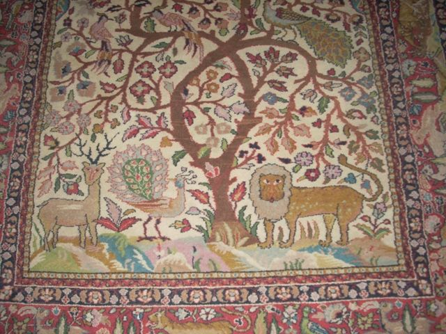 Tree Of Life 2 An Exquisite Patterned Rug Listed