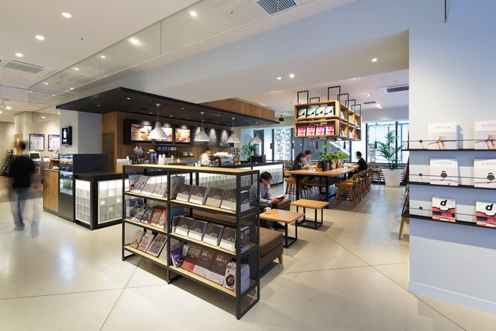 Culfe Book Store And Caf By Fan Inc Shizuoka Japan Retail Design