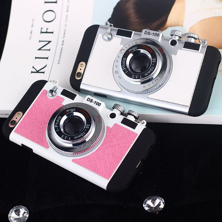 coque iphone 6 with camera lens cover