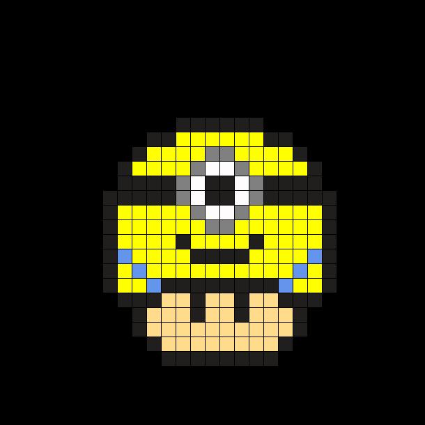 Ne Sont Il Pas Trop Minion En Perles Hama Pixel Art Minecraft