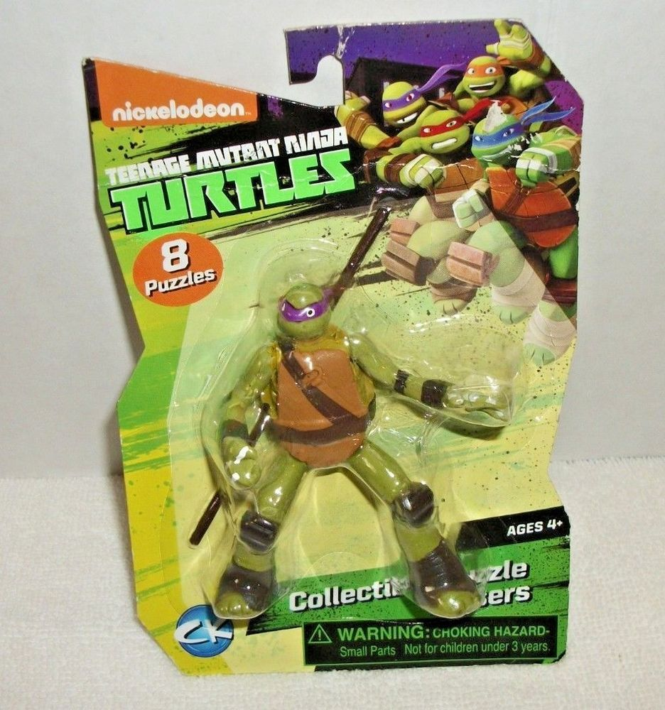 Pack of 4 Ooshies 76408 TMNT Mix 4 Figure
