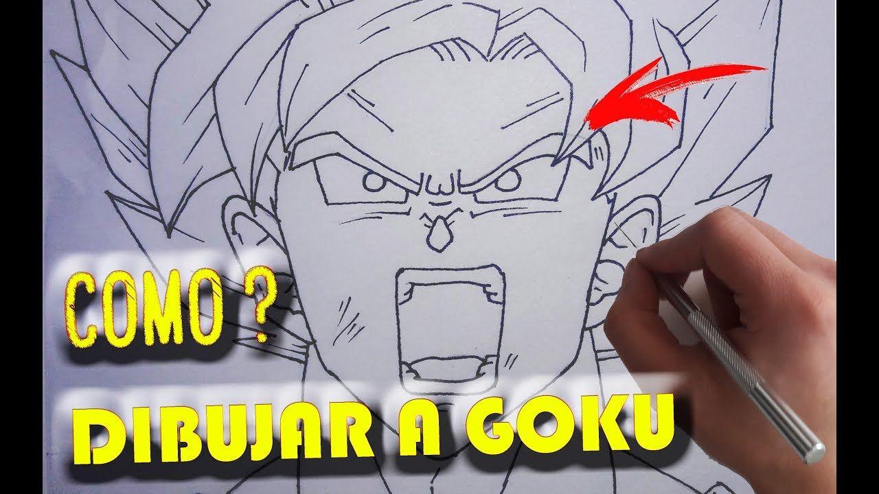 Como Dibujar A Goku Paso A Paso Facil Y Rapido How To Draw Goku Como Dibujar A Goku Dibujo De Goku Goku Dibujo A Lapiz