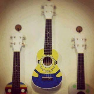 Minion Guitar Ukulele Guitar Ukulele Pictures