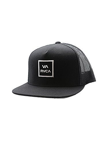 RVCA VA All The Way Trucker Hat III BLACK OS   Click image for more details. 711416fe7d0