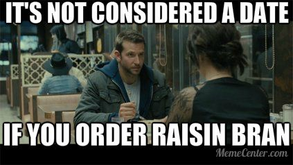 silver linings playbook it s not considered a date if you order