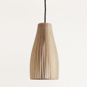 Birkenholz-Stecklampe Ena