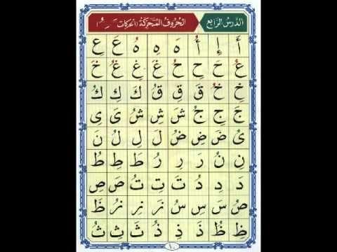 دروس القاعدة النورانية لأطفالنا أناقة مغربية Learn Quran Lesson Learning