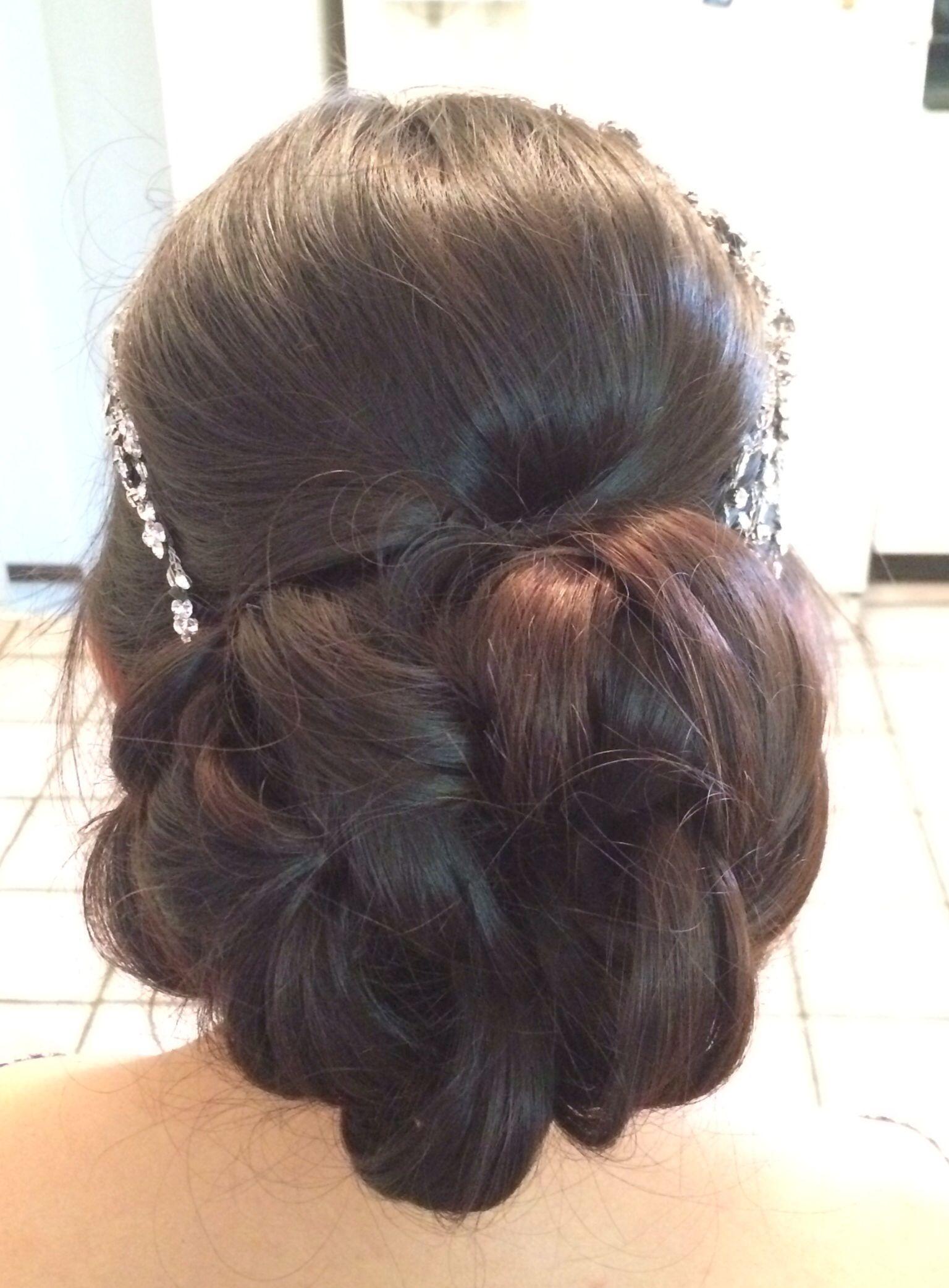 Pin Curl Up Do Hairstyle Beautiful Short Hair Medium Length Up Dos
