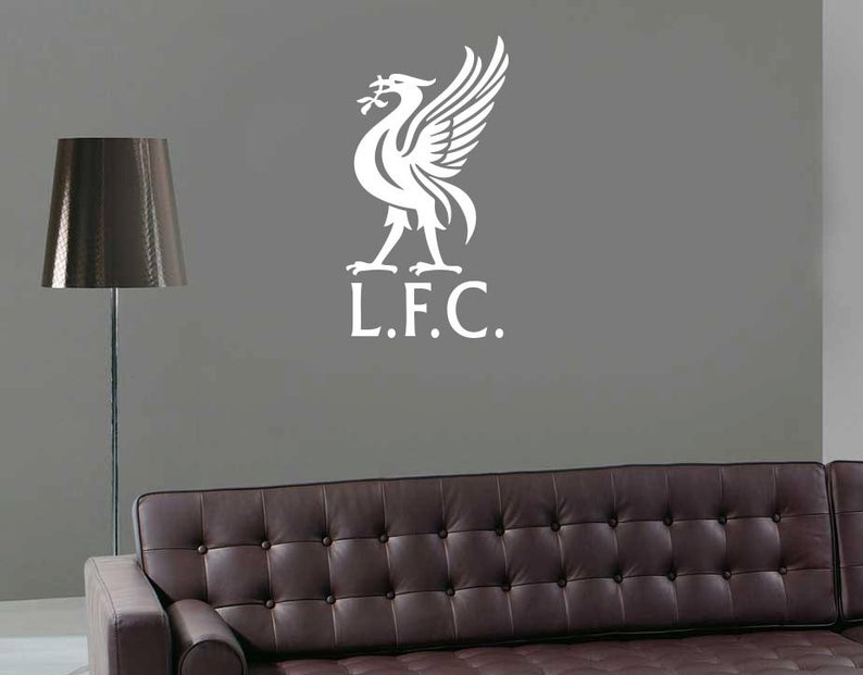 liverpool wall decal lfc sticker liverpool logo bird decal on wall logo decal id=93141