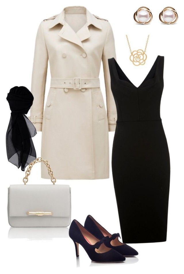 """""""Untitled #103"""" by imagecollection on Polyvore featuring Victoria Beckham, KOCCA, Amanda Wakeley, PAS DE ROUGE, Lord & Taylor and Trilogy"""