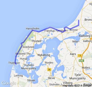 Wandern an der dänischen Nordsee - North Sea Trail