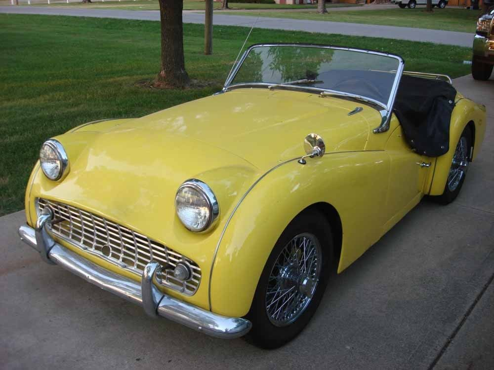 1959 Triumph Tr3 1959 Triumph Tr3 Tr3a Extras From Estate