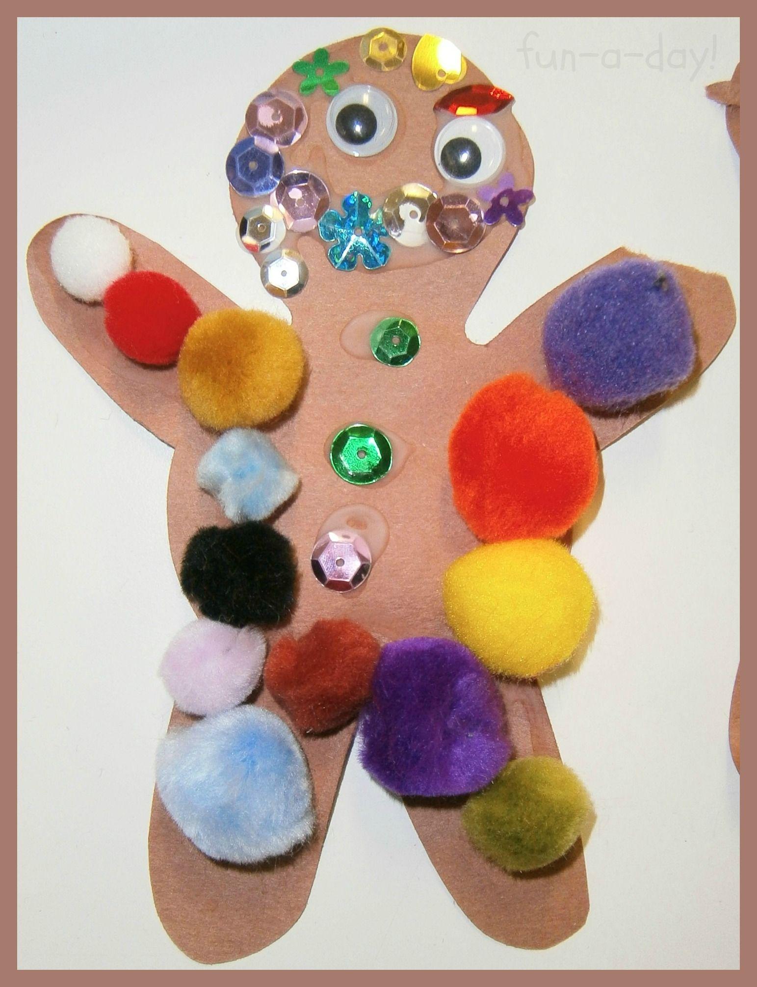 Gingerbread Man Theme For The Preschool Classroom