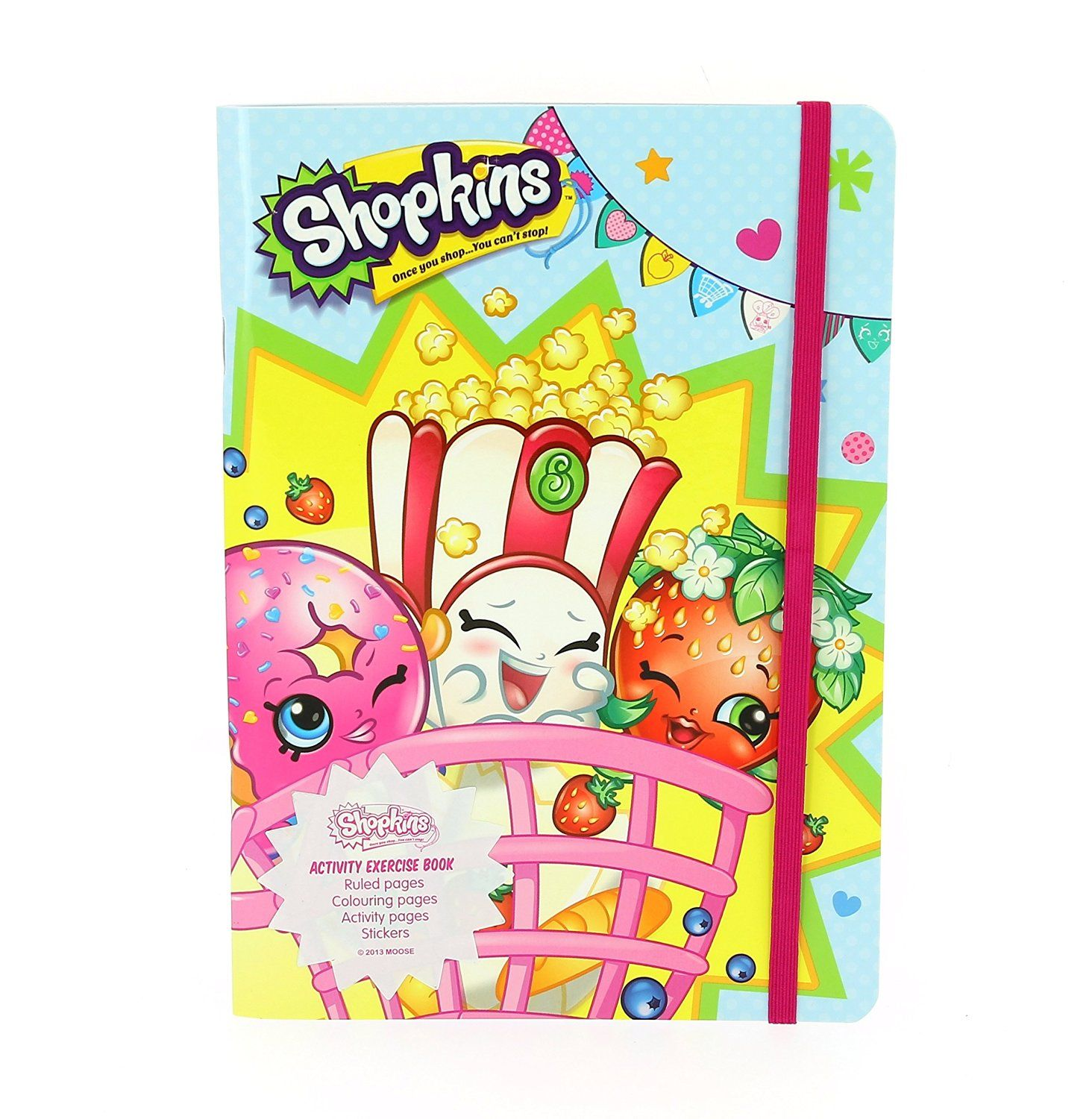 Shopkins Activity Exercise Book Amazon Co Uk Office Products Exercise Book Shopkins Valentines Cards