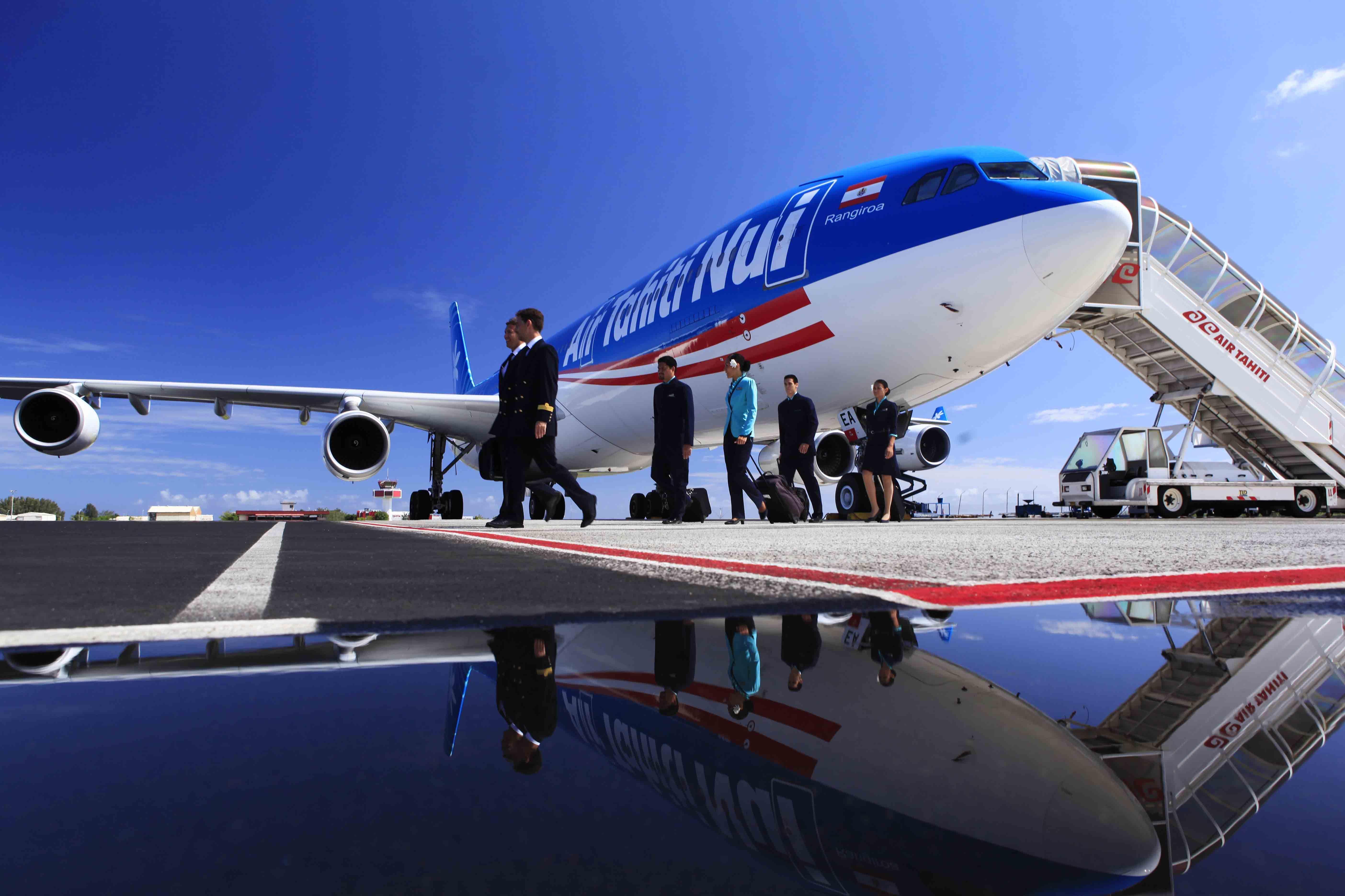 Air Tahiti Nui - vôos para Papeete - Polinésia Francesa