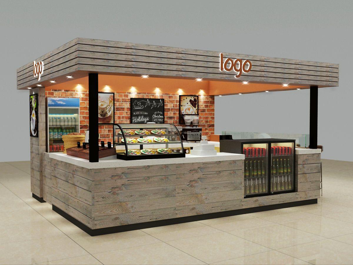 Source Solid Wood Mall Food Kiosk Cafe Kiosk Bar Furniture Outdoor Or Indoor Mall Coffee Shop Kiosk On M Shop Counter Design Coffee Shop Counter Kiosk Design