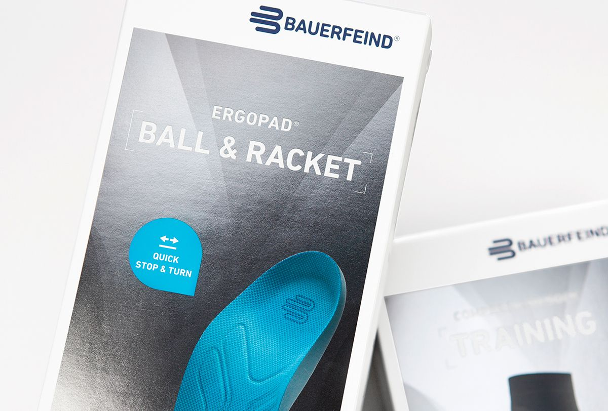 Bauerfeind on Behance Train, Challenges, Product launch