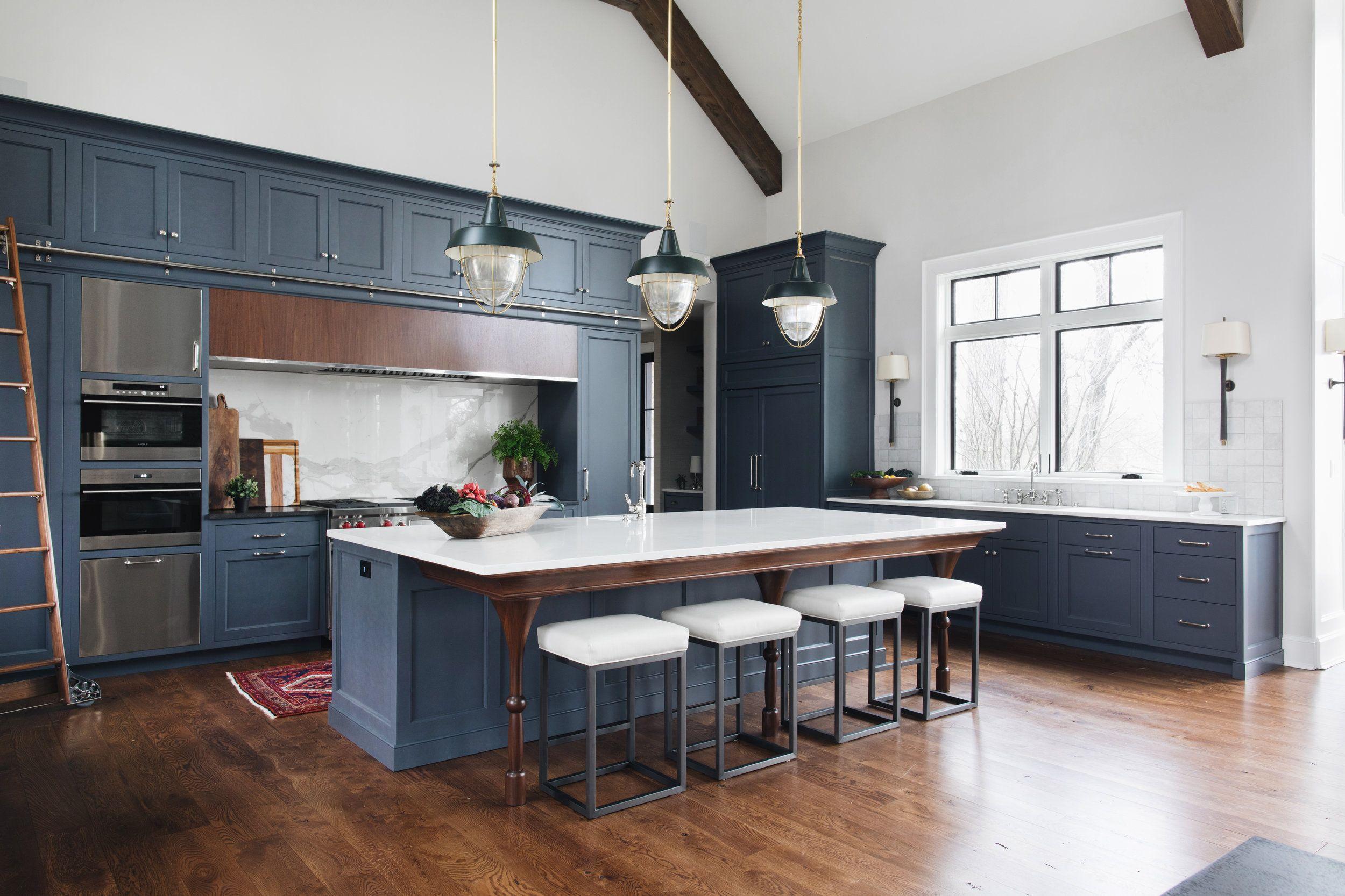 pin by monica lynn on dream kitchens blue kitchen cabinets blue shaker kitchen dark blue on kitchen cabinets blue id=40379