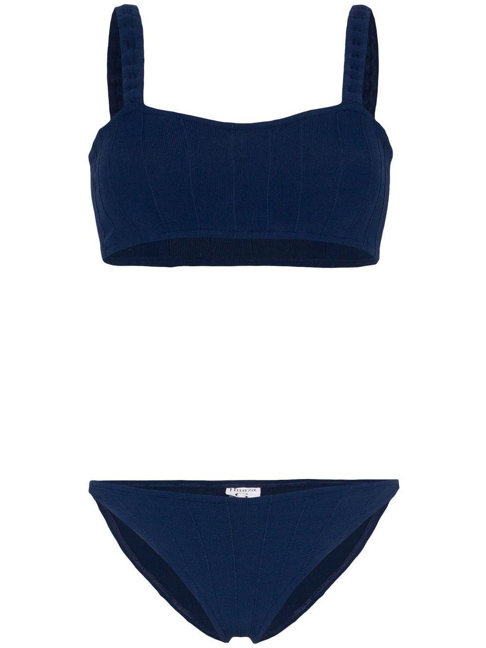 88793cd45e Hunza G Aneski bikini - Blue in 2019 | Products | Hunza g, Bikinis ...