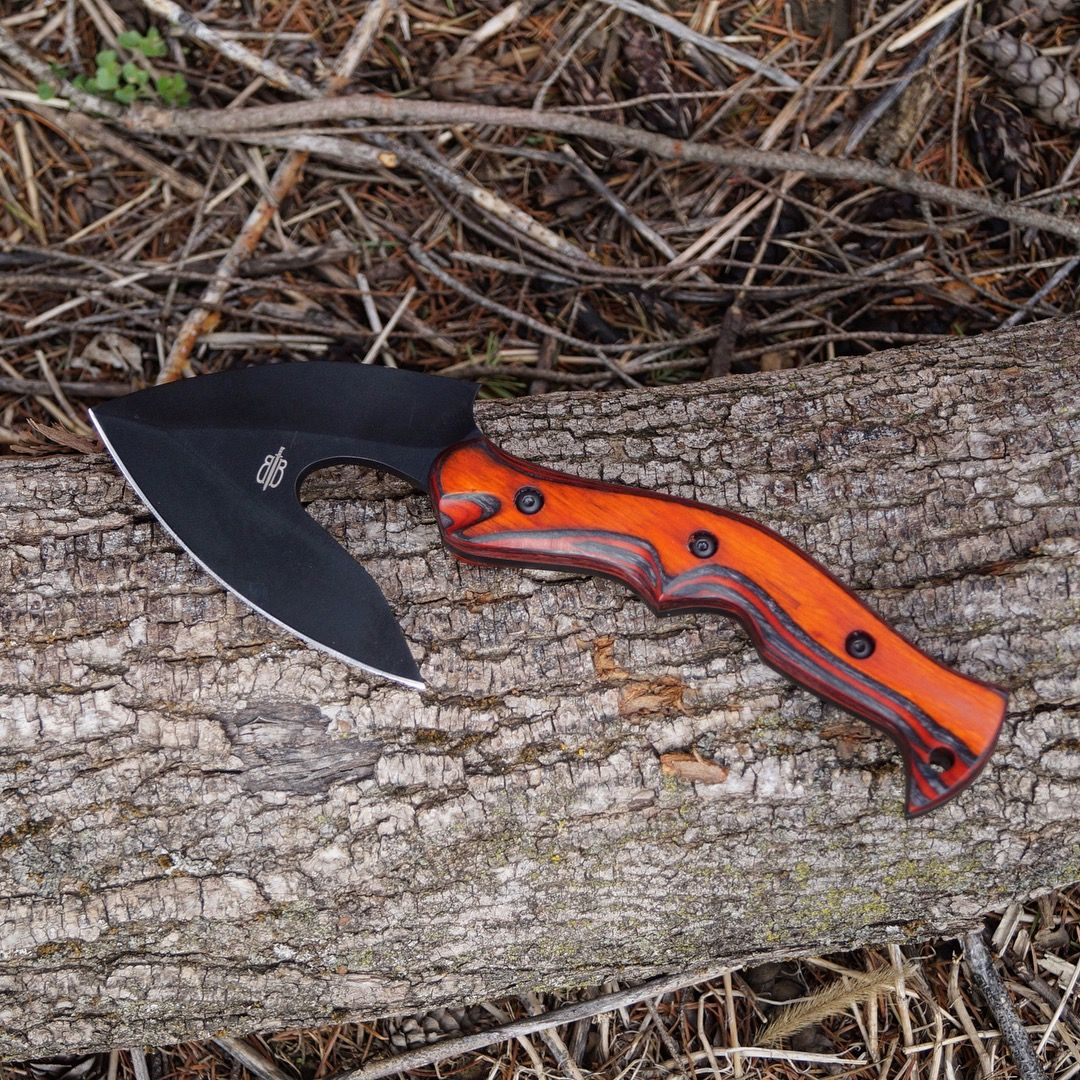 This Tactical Native Axe from BucknBear features a full