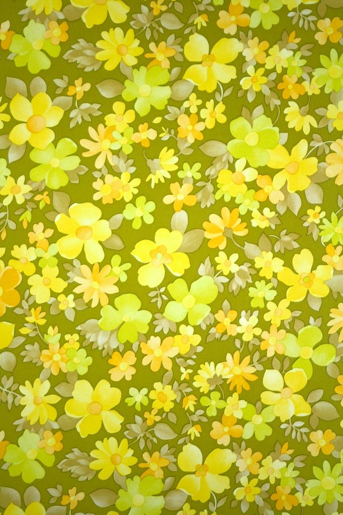 Vintage Floral Wallpaper 2 Vintage Floral Wallpapers Floral Wallpaper Yellow Flower Wallpaper