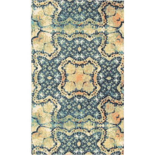majestic rugs for living room. Nourison Vista Polyester Majestic Rug  Blue Gold Decor Walmart com