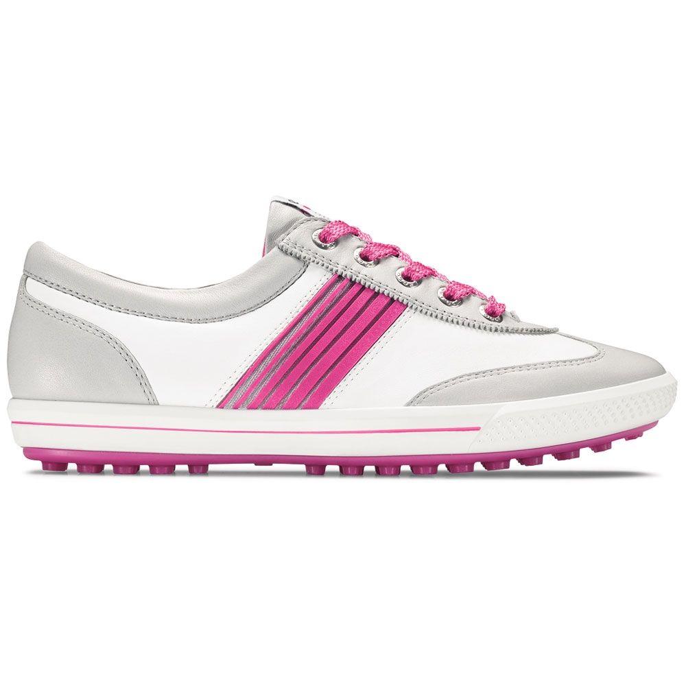 Ecco Womens Golf Street Sport Concrete/White/Candy