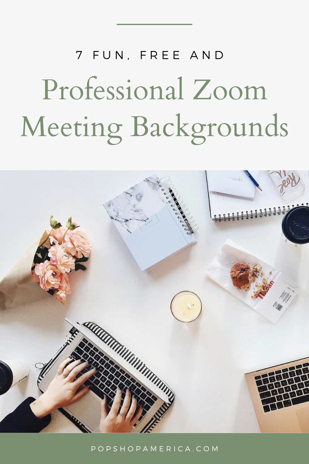 7 Fun Free And Professional Zoom Meeting Backgrounds How To Start A Blog Work Organization Productive Things To Do