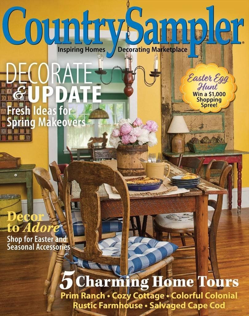 Country sampler magazine subscription i love the country