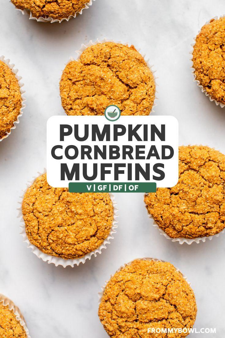Vegan Pumpkin Conrbread Muffins These Vegan Pumpki