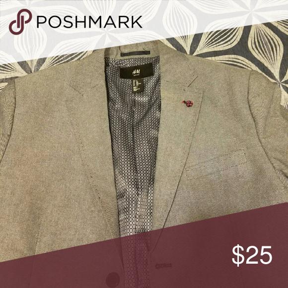 Selling this Men's Blazer on Poshmark! My username is: rob_1. #shopmycloset #poshmark #fashion #shopping #style #forsale #H&M #Other