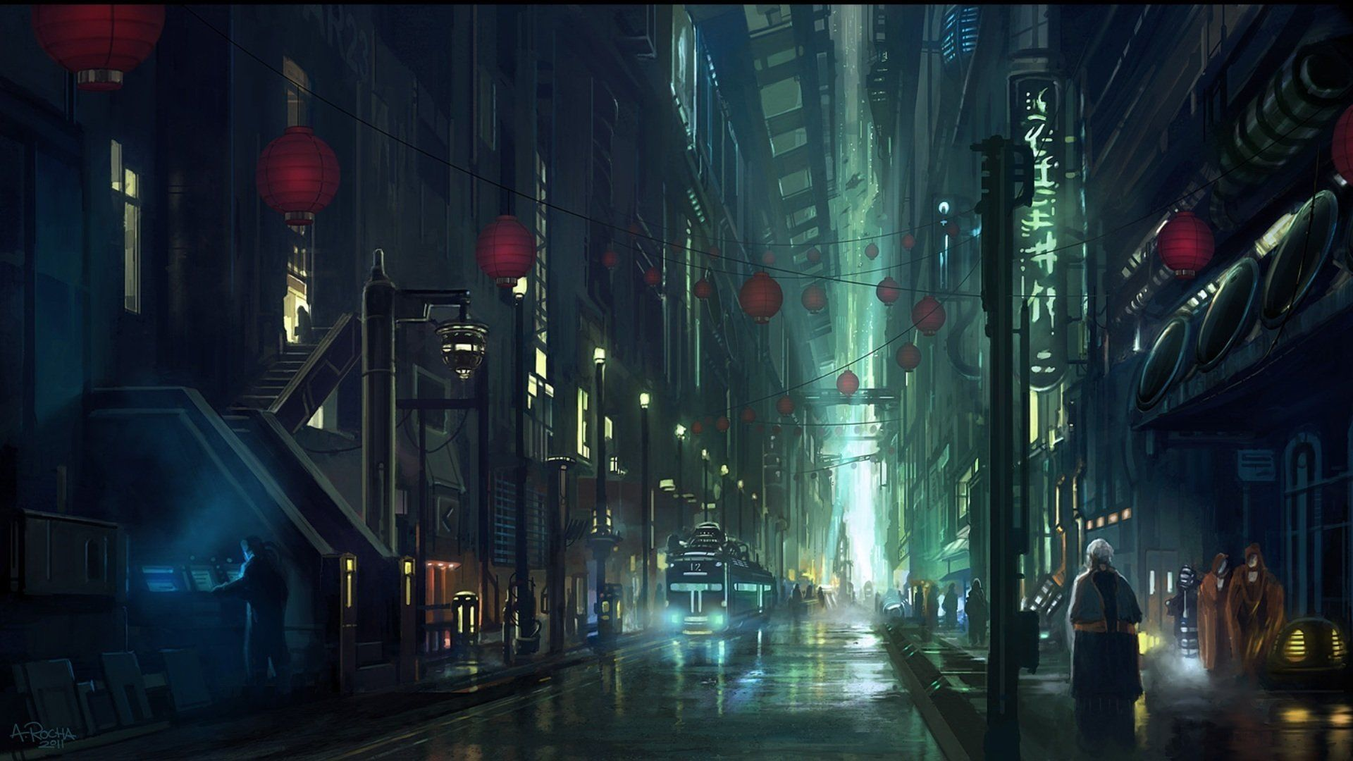 Blade Runner Wallpapers Cyberpunk City Anime City Sci Fi Wallpaper