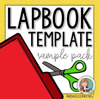 Lapbook Template Sampler | lapbook | Pinterest | Unit studies and ...