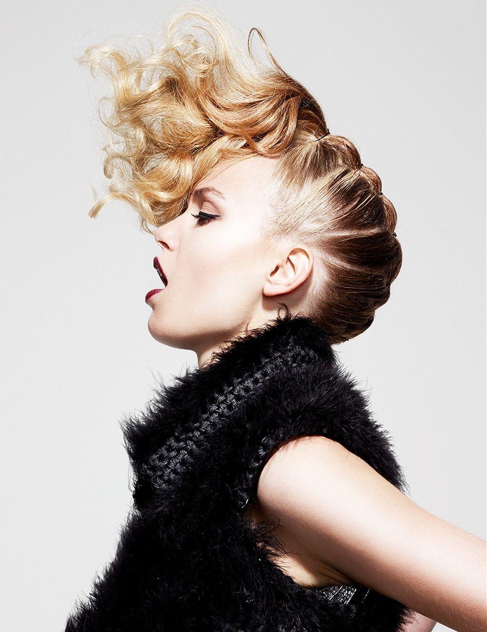 Las mejores variaciones de peinados cresta Galeria De Cortes De Pelo Tendencias - 15 Peinado Cresta Mujer Pelo Largo   Las Mejores Imágenes ...