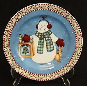 Debbie Mumm Snowman Dinnerware | Mumm's the Word ...