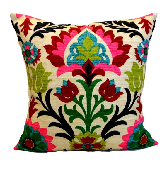 Waverly Pillow Cover Santa Maria Desert Flower Accent Pillow Decorative Pillows Pillows Flower Pillow Desert