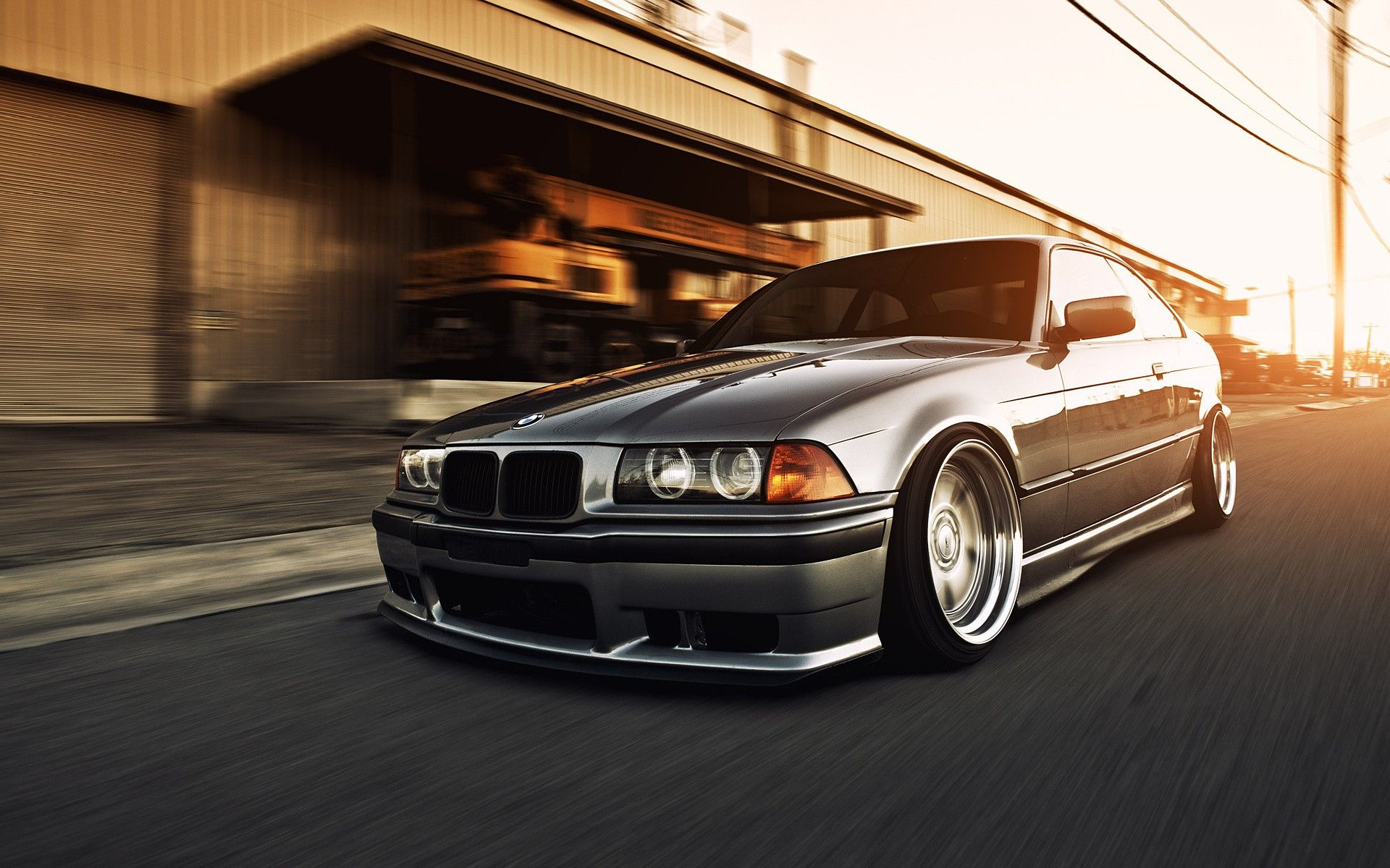 At First I Labelled This As A Lowered E36 M3 But They Had