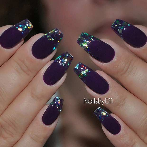 25 Fun Ways to Wear Ballerina Nails | Coffin nails, Glass and ...