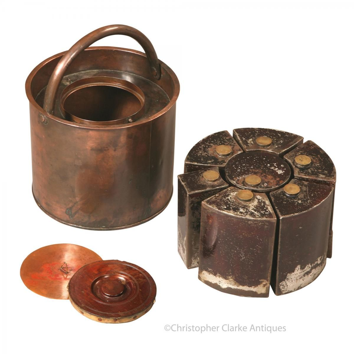 The purpose of using copper to make this Black Powder Drum is to minimize the danger from sparks that might...