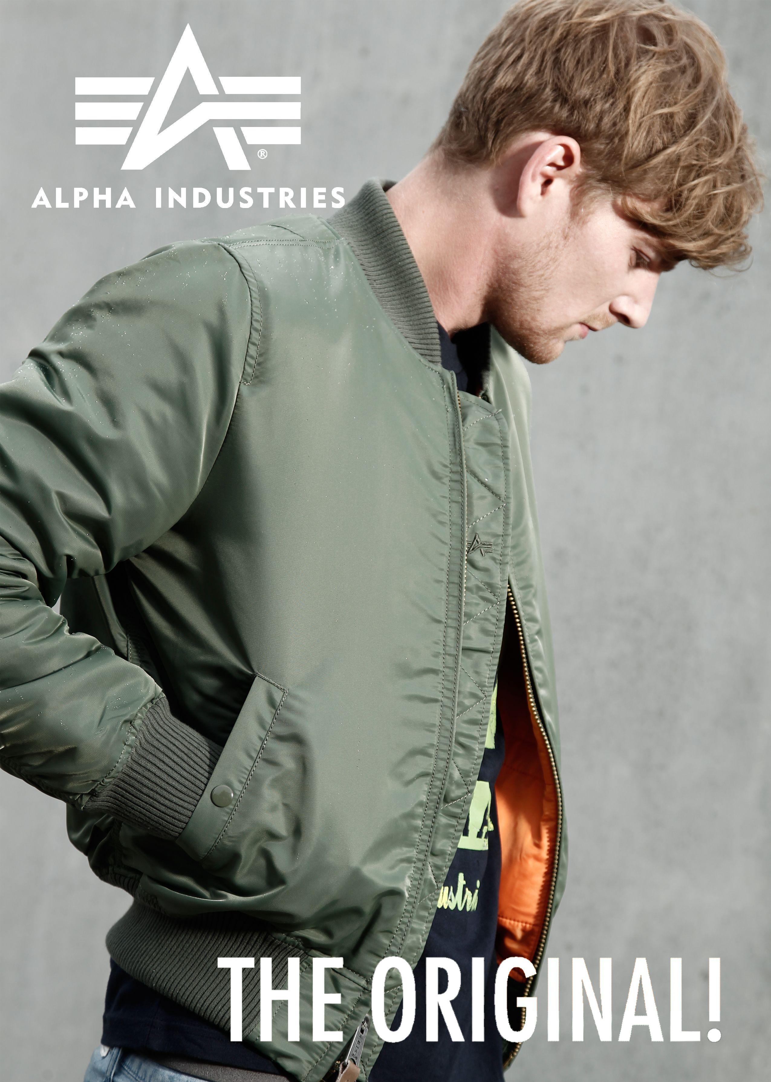 Alpha industries MA1 Giacca da Aviatore Bomber Giacca Uomo Classico Blusa Pilota