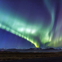 """""""The luminous, radiant emission from the upper atmosphere over middle and high latitudes, and..."""