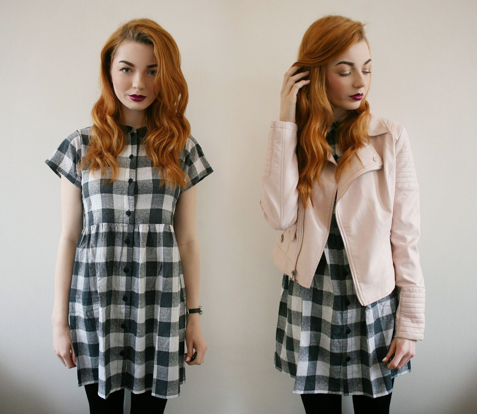 Outfit Of The Day | Gingham Dress - #MotelMonday giveaway! - Hannah Louise…